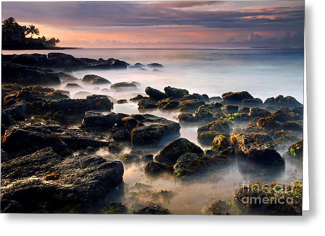 Koloa Sunrise Dream Greeting Card