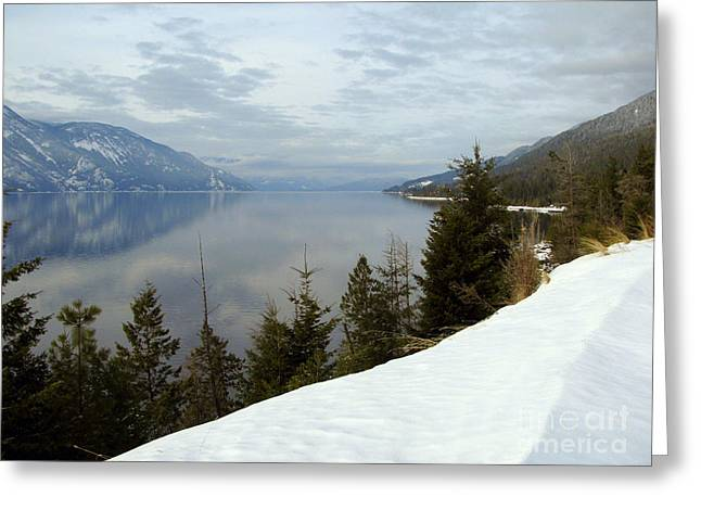 Kootenay Paradise Greeting Card by Leone Lund