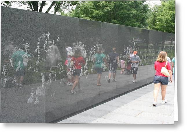 Korean War Veterans Memorial Greeting Card