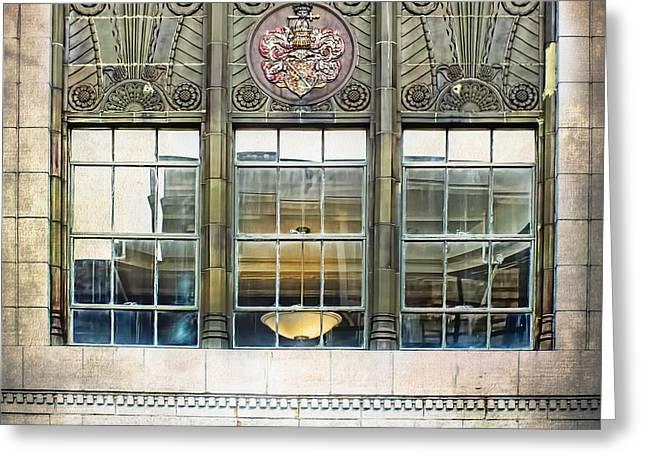 Kress Art Deco Window Greeting Card