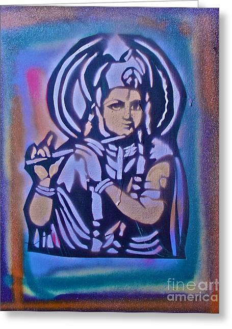 Krishna 2 Greeting Card