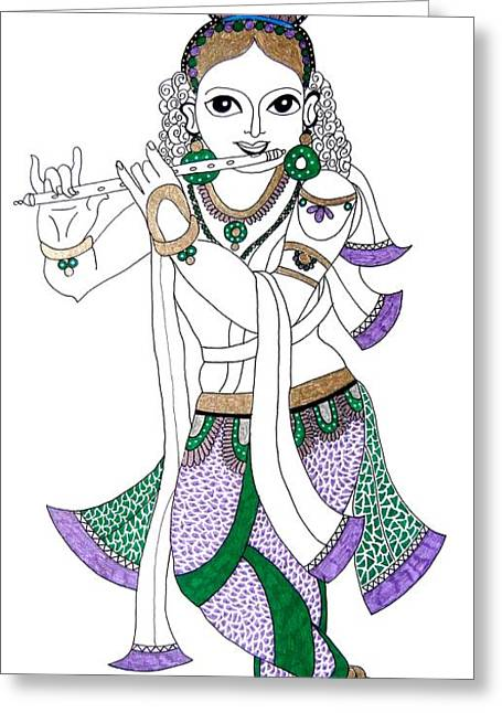 Krishna IIi Greeting Card
