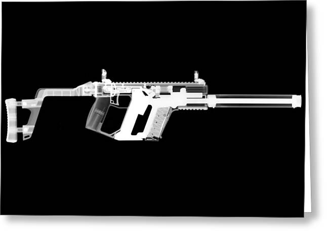 Kriss Vector Greeting Card by Ray Gunz
