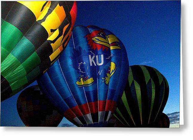Ku Ballon Greeting Card