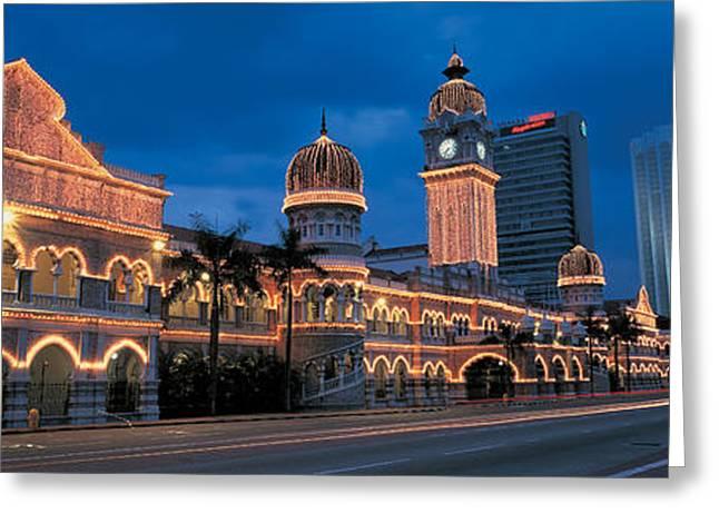 Kuala Lumphur Malaysia Greeting Card by Panoramic Images