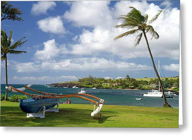 Kukuiula Small Boat Harbor Greeting Card