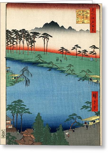 Kumanojunisha Shrine Greeting Card