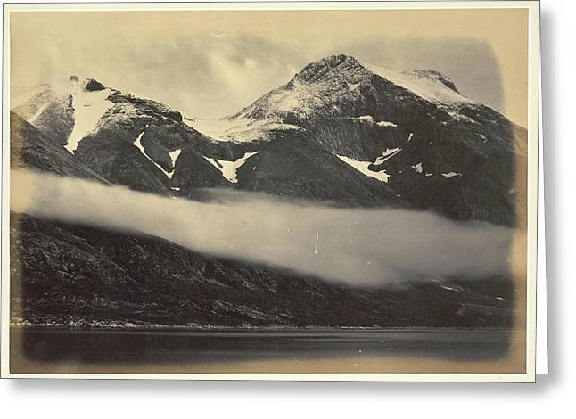 Kunal Mountain Greeting Card by British Library