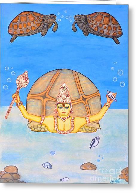 Kurmamurti Greeting Card