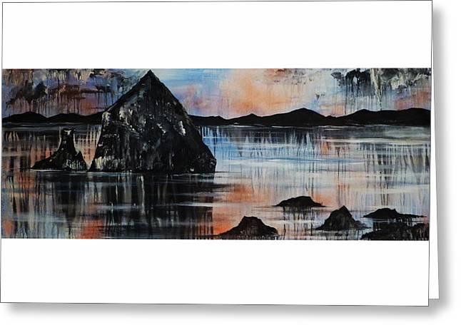 Kuyuidokado Temple Greeting Card by Chad Rice