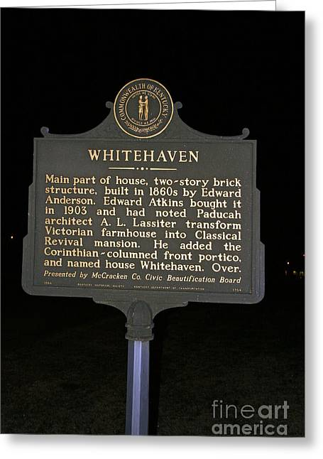 Ky-1754 Whitehaven Greeting Card