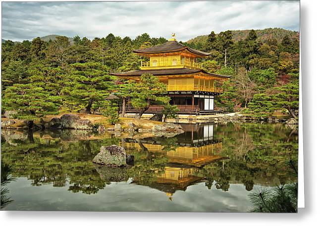 Kyoto, Japan, Golden Temple Greeting Card