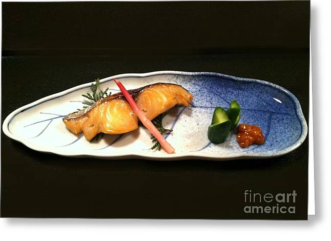 Greeting Card featuring the photograph Kyoto Style by Carol Sweetwood