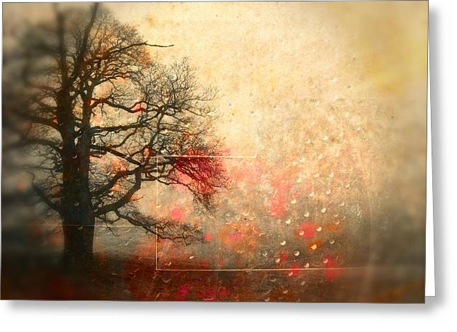 L Arbre De Vie - S44av02 Greeting Card by Variance Collections