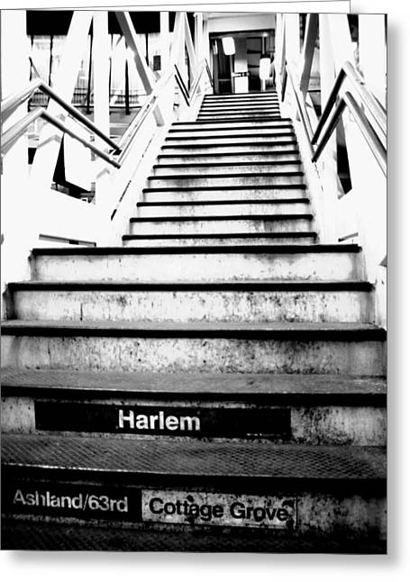 L Train Greeting Card