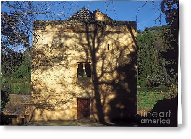 La Alhambra  Infantas Tower Greeting Card by Guido Montanes Castillo