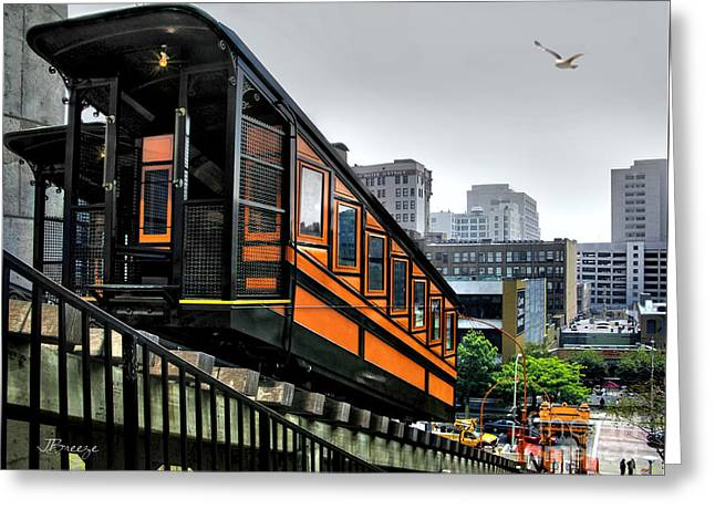 Los Angeles Angels Flight Greeting Card