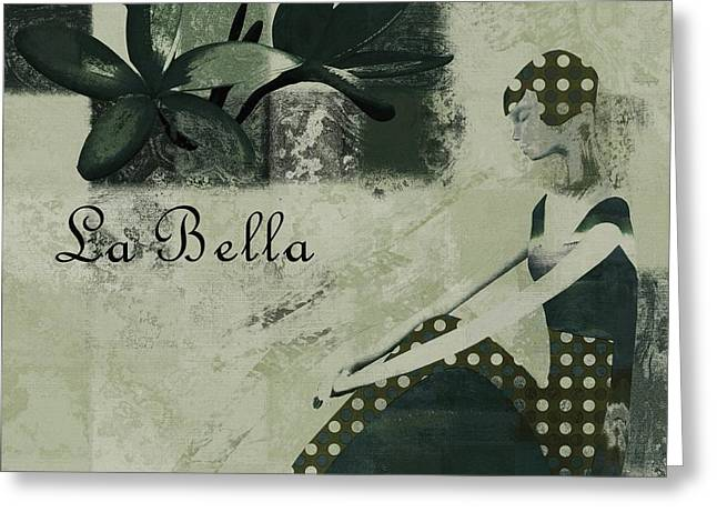 La Bella - Vieillot - 064067152-01 Greeting Card by Variance Collections
