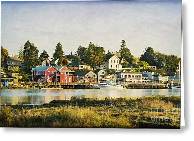 La Conner Waterfront Greeting Card