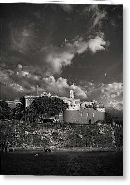 La Fortaleza Greeting Card by Mario Celzner