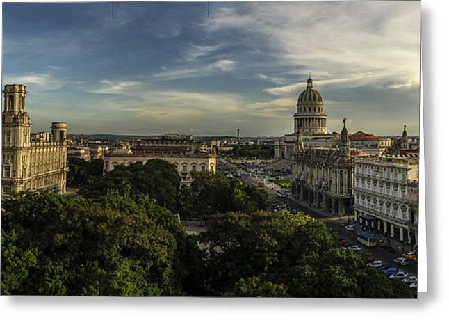 La Habana Cuba Capitolio Greeting Card