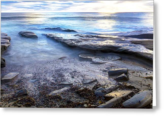 La Jolla Blue Water Greeting Card