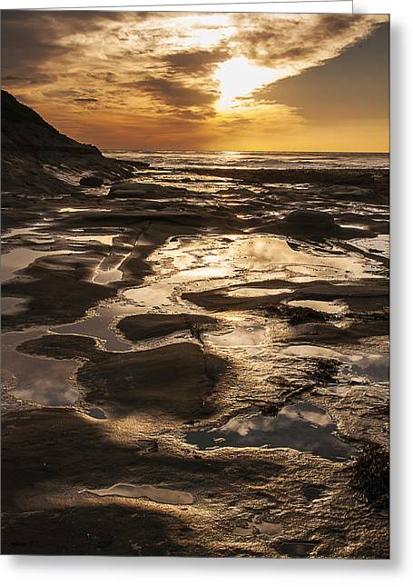 La Jolla Sunset 3 Greeting Card