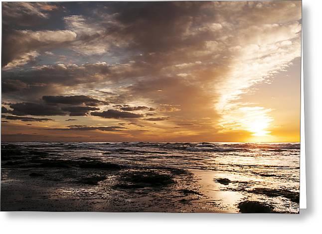 La Jolla Sunset 4 Greeting Card