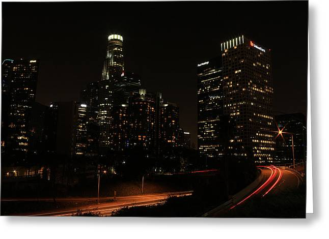 LA Greeting Card by Kevin Ashley