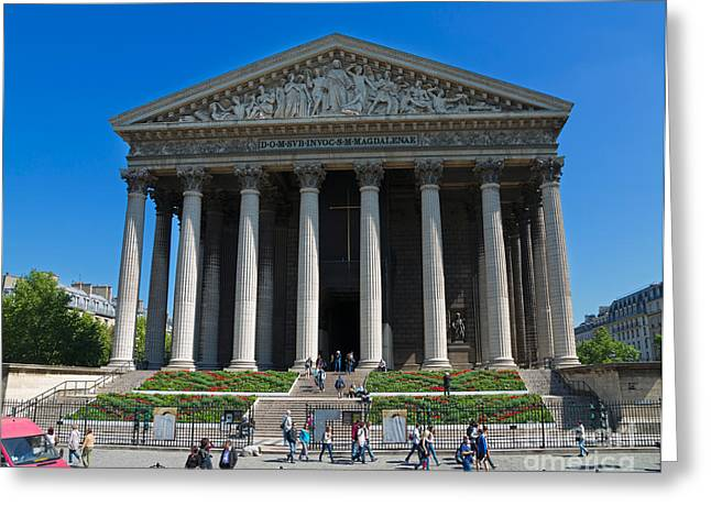 La Madeleine Paris Greeting Card by Louise Heusinkveld