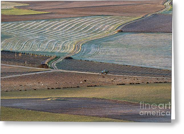 La Mancha Landscape - Spain Series-ocho Greeting Card by Heiko Koehrer-Wagner