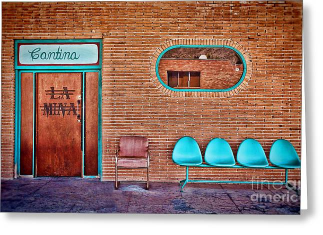 La Mina Cantina Greeting Card