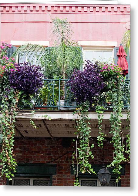 La, New Orleans, French Quarter Greeting Card