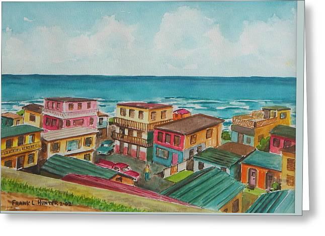 La Perla San Juan Pr Greeting Card