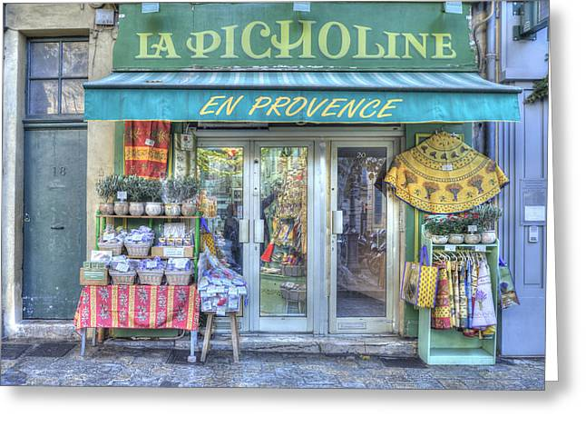 La Picholine Greeting Card