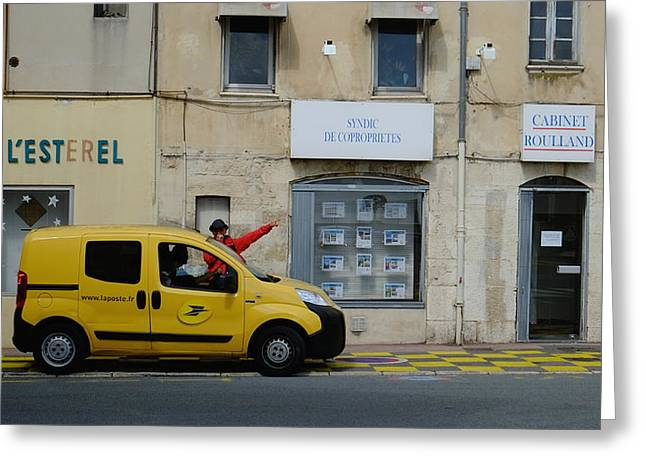 La Poste France Greeting Card