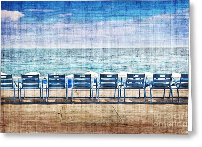 La Promenade Des Anglais Greeting Card