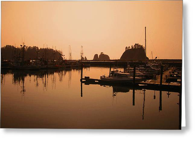 La Push In The Afternoon Greeting Card by Kym Backland