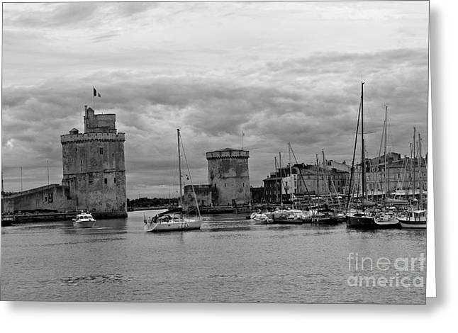 Greeting Card featuring the photograph La Rochelle by Cendrine Marrouat