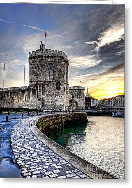 La Rochelle  Greeting Card
