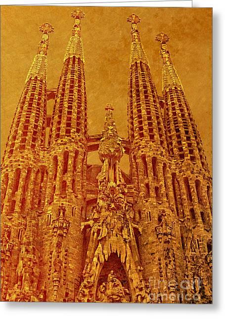 La Sagrada Familia Greeting Card