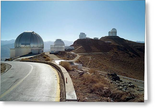 La Silla Observatory Greeting Card by European Southern Observatory