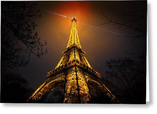 La Tour Eiffel Greeting Card by Clemens Geiger