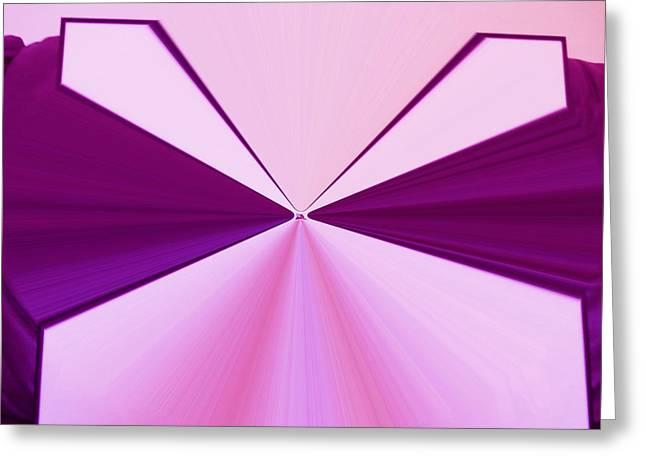 La Vie En Rose 07 3.23.14 Greeting Card by Rozita Fogelman