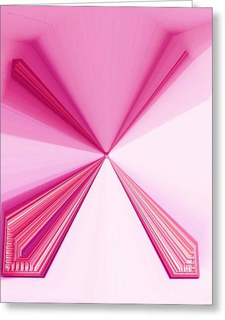 La Vie En Rose 19   3.23.14 Greeting Card by Rozita Fogelman