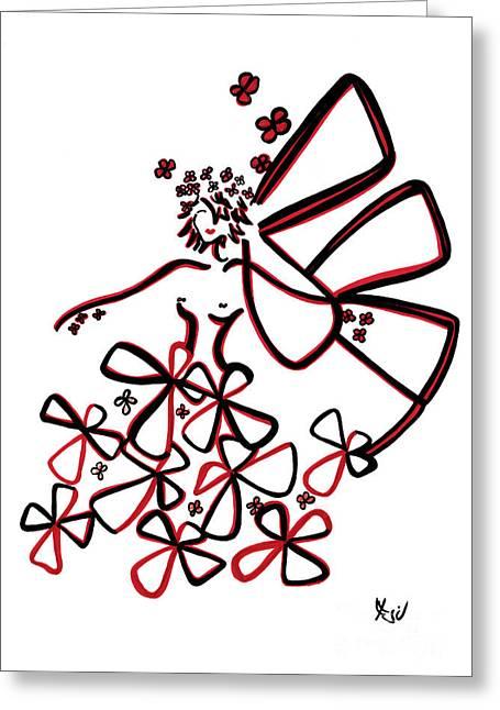 La Vie Est Belle Greeting Card