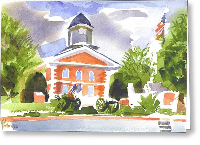 Labor Day Afternoon Greeting Card by Kip DeVore