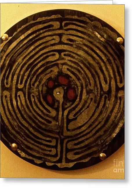 Labyrinthe Greeting Card