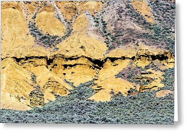 Lac Du Bois Formations Greeting Card by Michael Russell