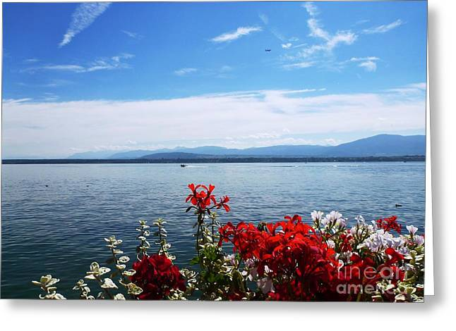 Lac Leman - Switzerland Greeting Card